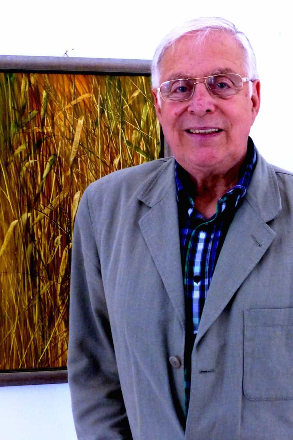 naturnah: Siegbert Maier stellt aus, Pinselzeichnung-Malerei in der  Alten Kirche