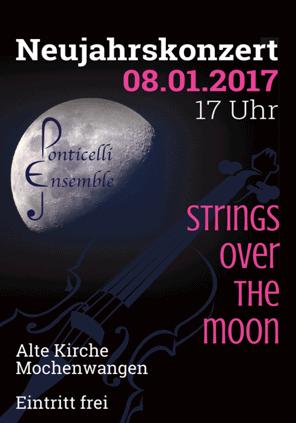 Neujahrskonzert 2017 des Ponticelli Ensembles in der Alten Kirche Mochenwangen