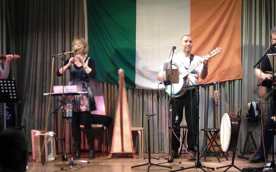 #Irish Folk Music mit Loch Talamh in der Alten Kirche Mochenwangen