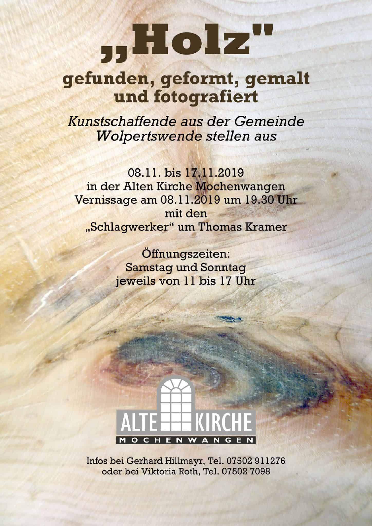Holz Gefunden Geformt Fotografiert Und Gemalt Alte Kirche